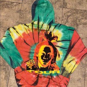 Trippie Redd Tour Tie Dye Hoodie Tour Merch🔥